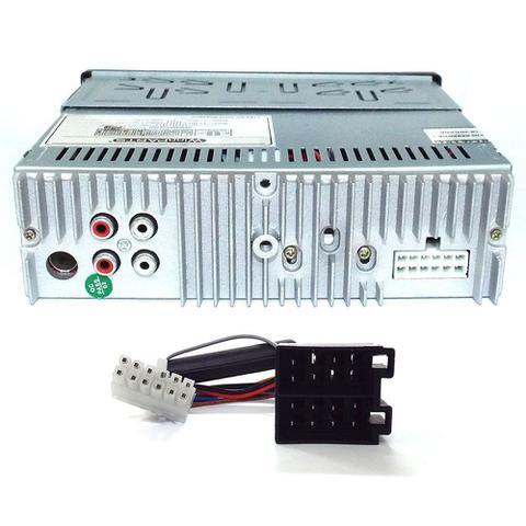 Imagem de Radio Mp3 Player Automotivo + 1 Alto-falantes E Sub Integrados Usb Sdcard Pi0027