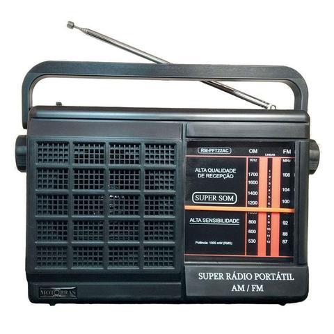 Imagem de Rádio Portátil 2 Faixas - Rm-pft22ac - Bivolt 110/220v E Pilhas