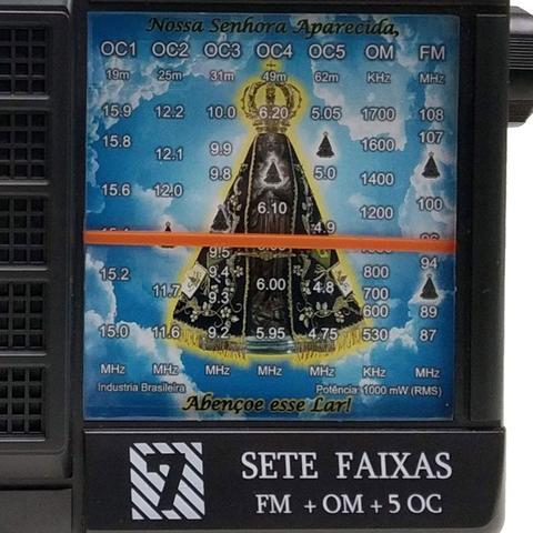 Imagem de Rádio Portátil 7 Faixas Aparecida Motobras