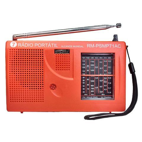 Imagem de Rádio Portátil 7 Faixas Motobras