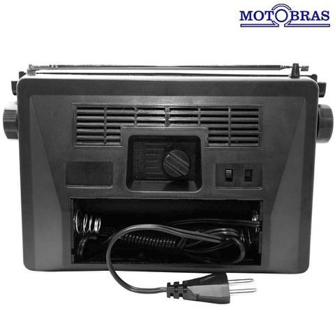 Imagem de Rádio Portátil AM e FM 7 Faixas Motobras RM-PFT73AC