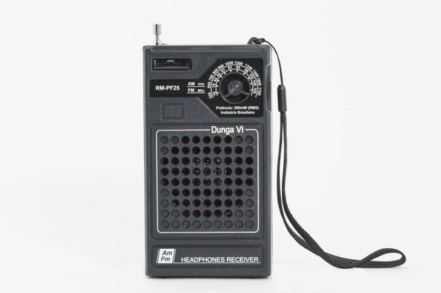 Imagem de Rádio Portátil AM/FM  -- Motobrás -- RM-PF25