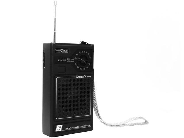 Imagem de Rádio Portátil AM/FM RM-PF 25 - Motobras