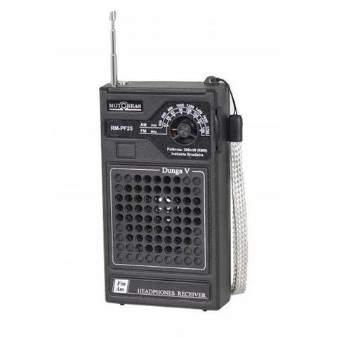 Imagem de Rádio Portátil RM-PF-25 Am/Fm - MOTOBRAS