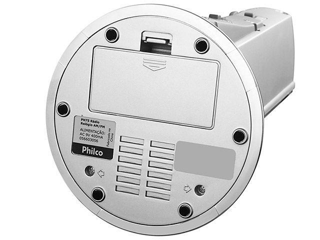 Imagem de Rádio Relógio AM/FM Despertador Display Digital