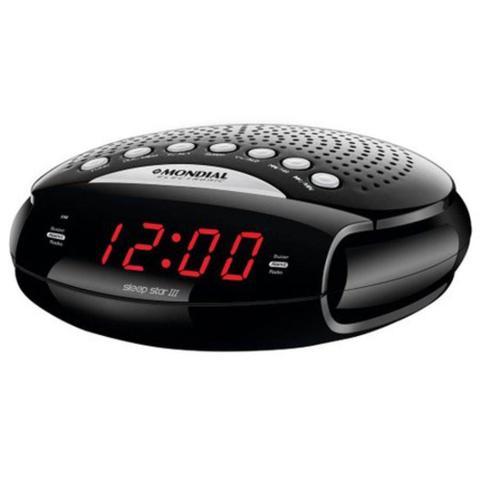 Imagem de Rádio Relógio Am Fm Despertador Mondial Digital Sleep Star