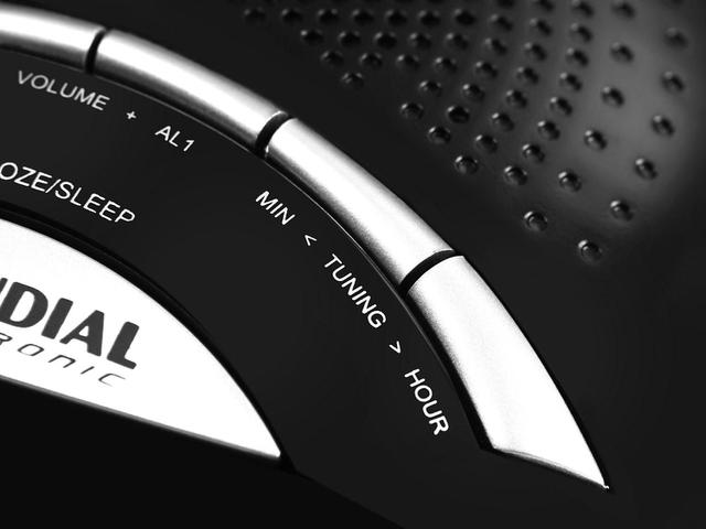 Imagem de Rádio Relógio AM/FM Display Digital RR-02