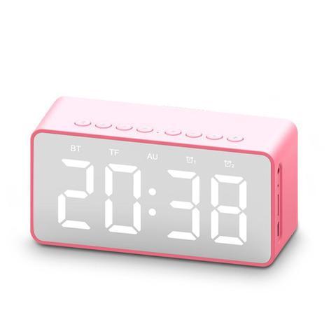 Imagem de Rádio Relógio com Despertador Espelhado Fm