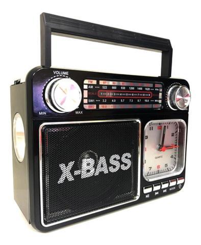Imagem de Rádio Relógio Com Lanterna Altomex A-135T