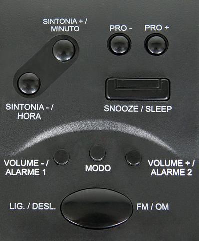 Imagem de Rádio Relógio Digital -- 110/220V -- Motobrás -- RM-RRD22