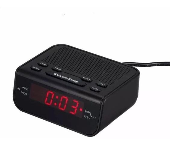 Imagem de Rádio Relógio Digital Alarme Duplo Lelong Le-671