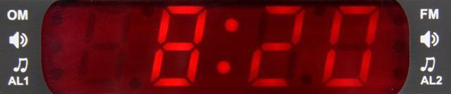Imagem de Rádio Relógio Digital -- AM/FM -- Motobrás -- RM-RRD22