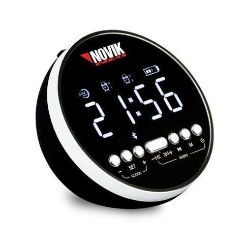 Imagem de Rádio Relógio Digital Bluetooth c/Alarme AION - NOVIK NEO