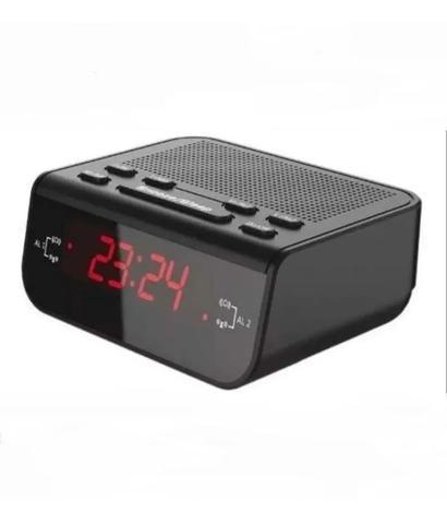 Imagem de Rádio Relógio Digital Despertador Alarme Duplo Promoção!