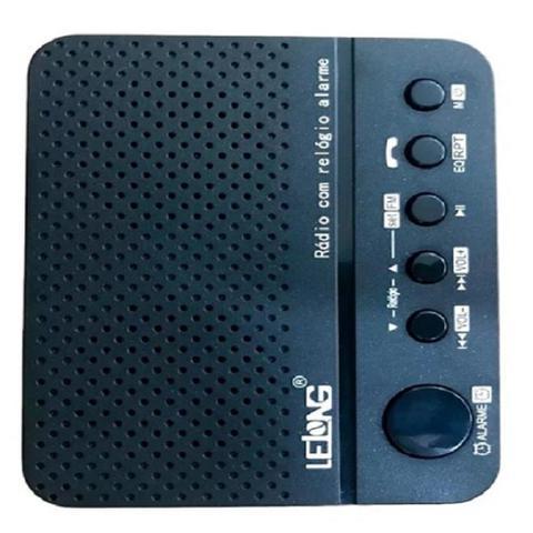 Imagem de Rádio Relógio Digital Despertador Bluetooth Lelong LE-674 Am/Fm