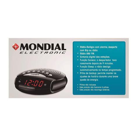 Imagem de Radio Relógio Mondial RR - 03 Sleep Star III AM/FM Display Digital