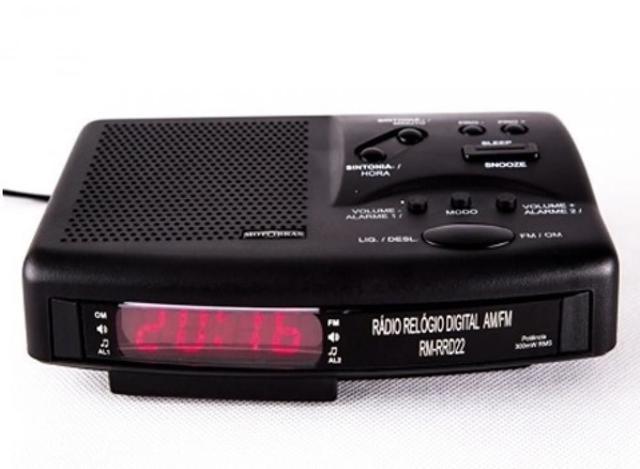 Imagem de Rádio Relógio Motobras RM-RRD22 - Bivolt