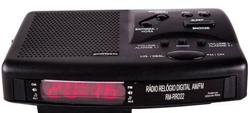 Imagem de Rádio Relógio Rm-rrd22 - Motobras