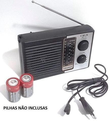 Imagem de Radio Retrô MK-10 AM FM e SW Portátil