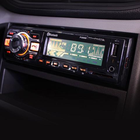 Imagem de Rádio Som Automotivo Bluetooth Fm mp3 usb sd aux Lançamento Pi0066
