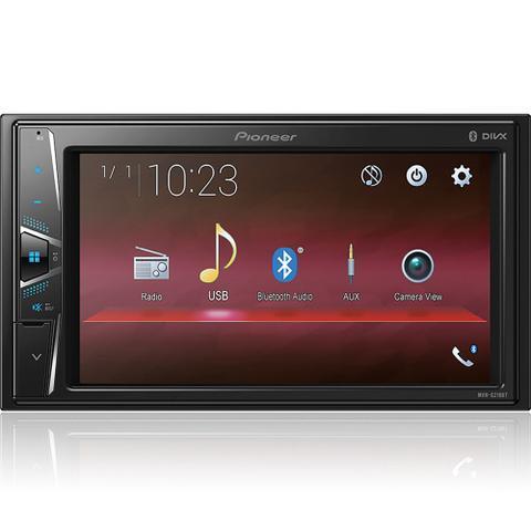 Imagem de Rádio Som Automotivo Multimidia Pionner MVH G218BT Tela 6,2 USB Bluetooth Câmera de Ré