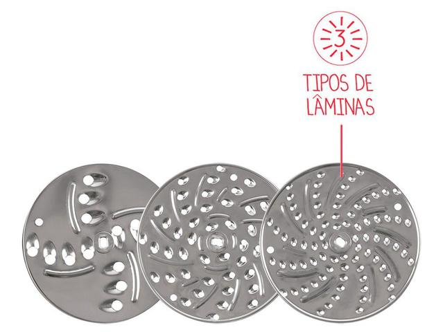 Imagem de Ralador Manual 3 Lâminas