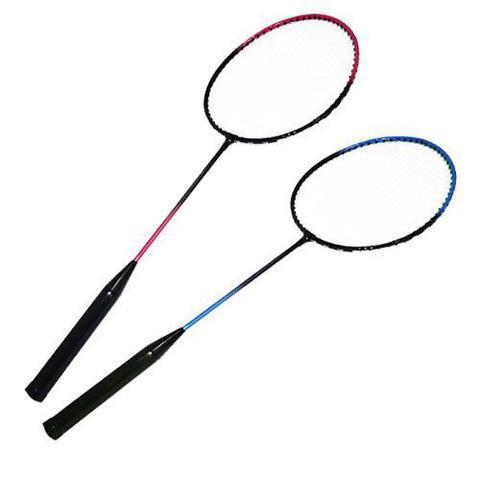 Imagem de Raquetes Badminton Kit Completo 2 Petecas 2 Raquetes + Bolsa
