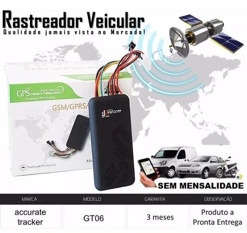 Imagem de Rastreador Bloqueador Veicular Gps Carro Moto Gt06 Accurate - Gt Acurate