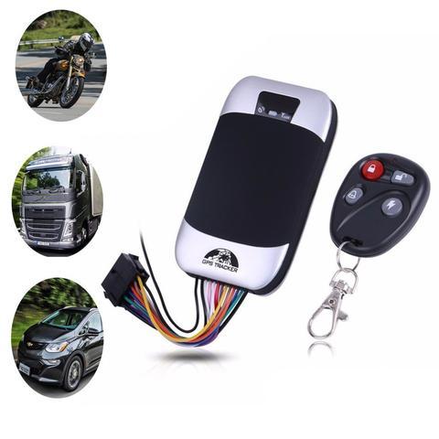 Imagem de Rastreador Gps Bloqueador Veicular Tk-303g Moto Carro Coban