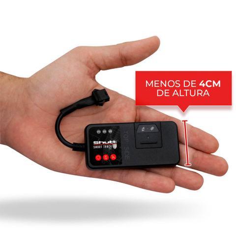 Imagem de Rastreador Veicular Universal Bloqueador Automotivo Carro Moto Caminhão Android e iOS GPS Shutt Mini