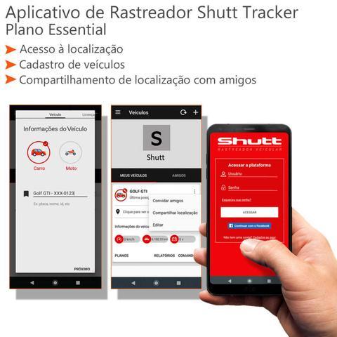 Imagem de Rastreador Veicular Universal Bloqueador Prova D'Água Shutt + APP Essential Android e IOS