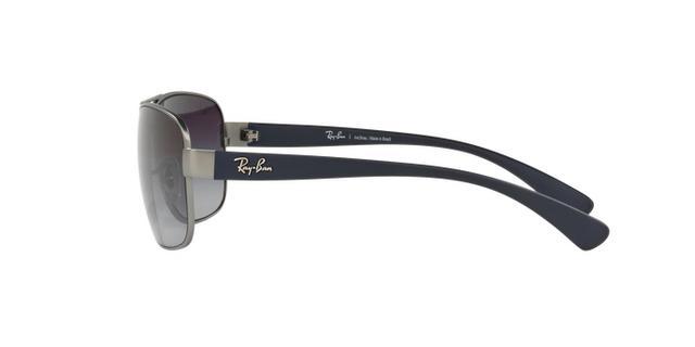 Ray-Ban RB3518L 029 8G Grafite Lente Cinza Degradê Tam 63 - Óculos ... e5be2c0a9c