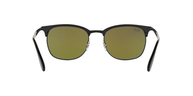 3680b3a189149 Ray-Ban RB3538 186 B1 Preto Lente Azul Degradê Tam 53 - Óculos de ...