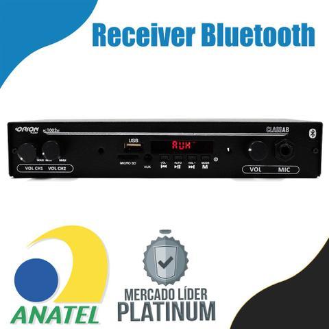 Imagem de Receiver Orion Slim 1002 Bluetooth Mic Sd Aux 2 Canais 40w