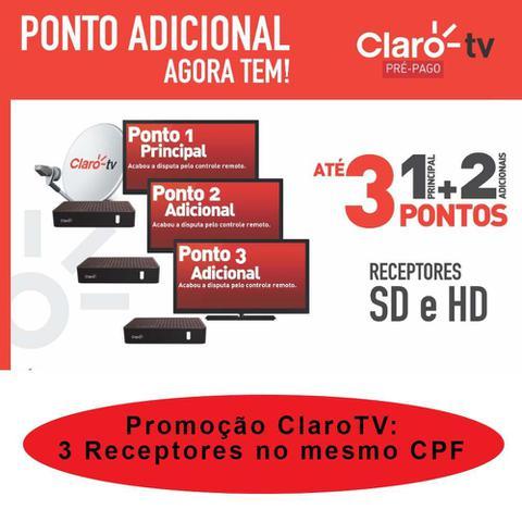 Imagem de Receptor Claro Tv Pré Pago Visiontec SD - DIGITAL