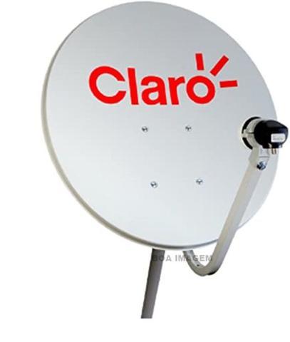 Imagem de Receptor Pré-Pago Claro Digital HD + Antena 60 cm-kit completo