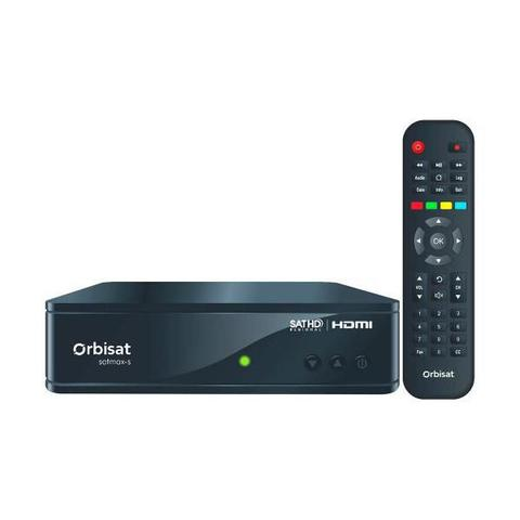 Imagem de Receptor satmax s orbisat canais 3d sd hd globo digital