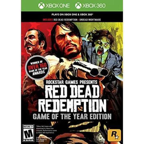 Jogo Red Dead Redemption Goty - Xbox 360 - Rockstar Games