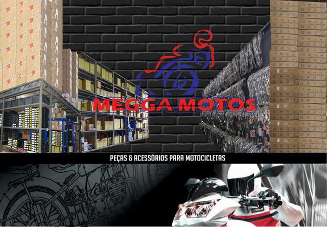 Imagem de Rede Elástica Redinha 35 x 35 Preta Moto Bagageiro Bau Capa