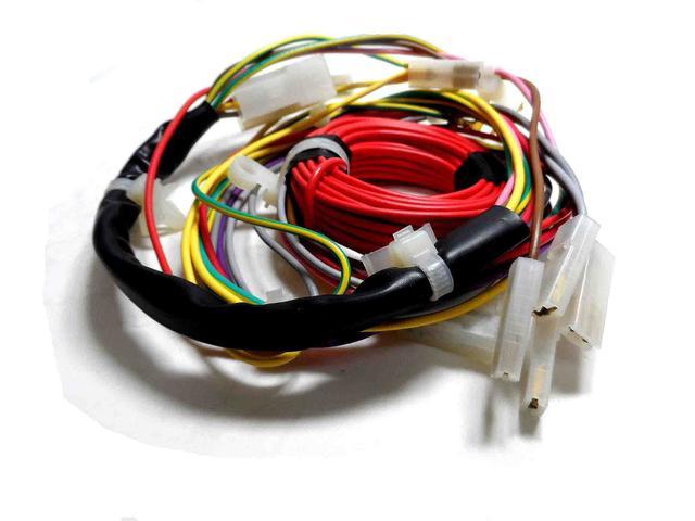 Imagem de Rede elétrica inferior lavadora eletrolux.
