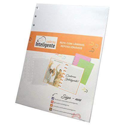 Imagem de Refil Caderno Inteligente Grande Pautado 90gr 50fls UN PM