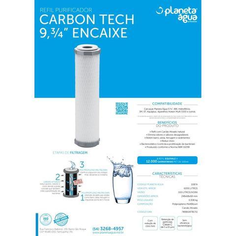 Imagem de Refil Carbon Tech 9, 3/4