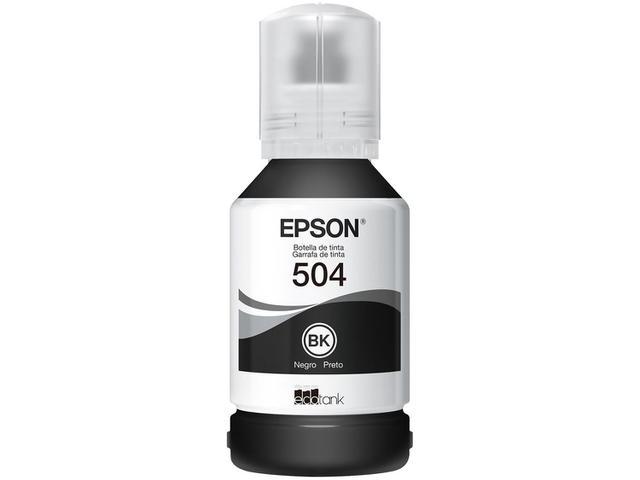 Imagem de Refil de Tinta Epson Preto T504