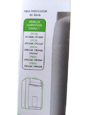 Imagem de Refil Filtro Purificador Água Consul Modelos CPC30 CPC31 CPB34 CPB35 CPB36 - Hidrofiltros