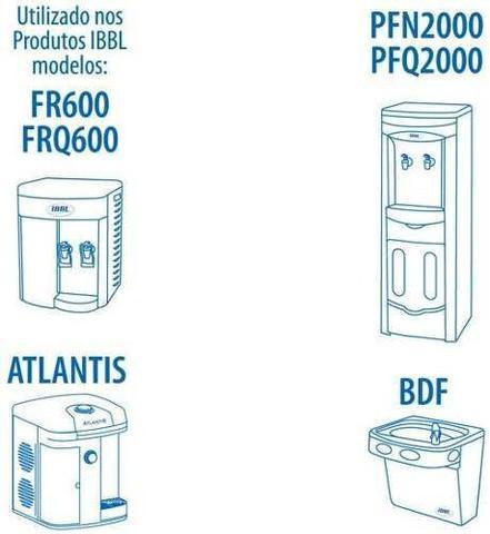 Imagem de Refil Filtro Purificador de Água IBBL C+3  Original (Immaginare, Innovare, Evolux, FR600,PFN, Atlantis, PDF)