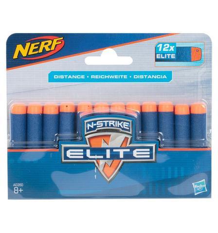 Imagem de Refil Nerf Elite 12 Dardos - A0350  Hasbro