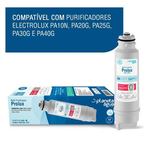 Imagem de Refil p/purificador agua electrolux pa10n/pa20g/pa25g/pa30g/pa30g -planeta água