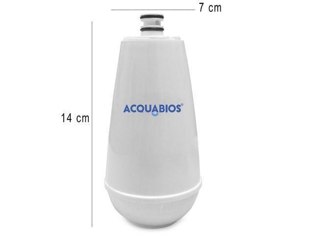 Imagem de Refil Para Torneira Com Filtro Purificador de Água Acqua E05 Original Acquabios