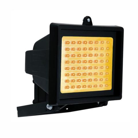 Imagem de Refletor Holofote com 60 LEDs Âmbar Bivolt - DNI 6054