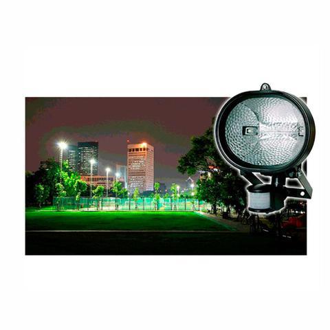 Imagem de Refletor Holofote Halógeno 150W Automático Bivolt e com Sensor de Presença  DNI 6016